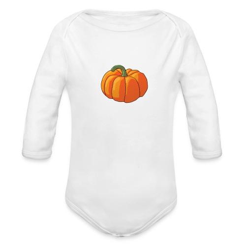 Pumpkin - Body ecologico per neonato a manica lunga