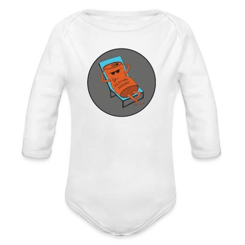 Festivalpodden - Loggan - Ekologisk långärmad babybody