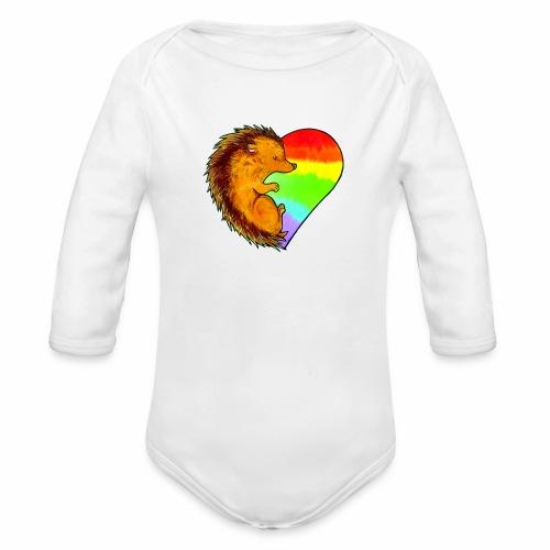 RICCIO - Body ecologico per neonato a manica lunga
