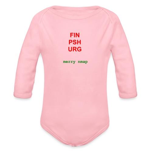 Merry nmap - Organic Longsleeve Baby Bodysuit
