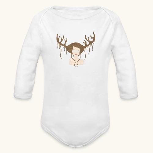 Blind Deer. - Body Bébé bio manches longues