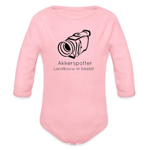 Logo akkerspotter - Baby bio-rompertje met lange mouwen