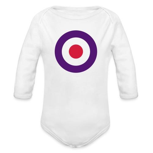 Mod Target United Kingdom Großbritannien - Baby Bio-Langarm-Body