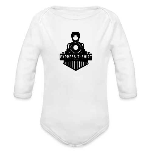 TRAIN EXPRESS T SHIRT - Body Bébé bio manches longues