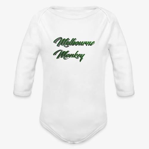 Melbourne Monkey 2 - Body Bébé bio manches longues