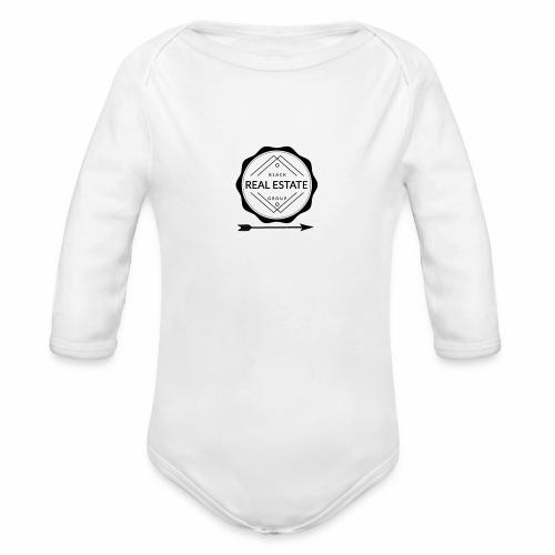 REAL ESTATE. - Body orgánico de manga larga para bebé