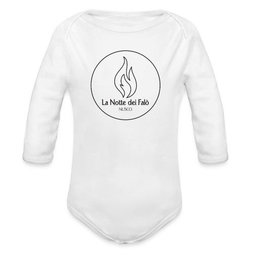 Logo Notte dei falo 1 - Body ecologico per neonato a manica lunga