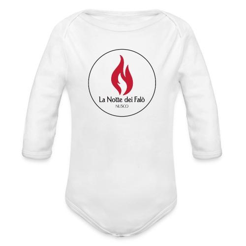 Logo Notte dei falo 2 - Body ecologico per neonato a manica lunga