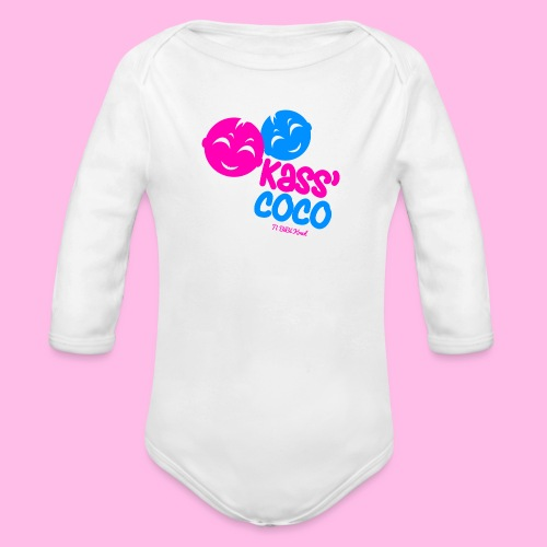 Collection KASS' COCO by Ti Bébé Kreol - Body Bébé bio manches longues