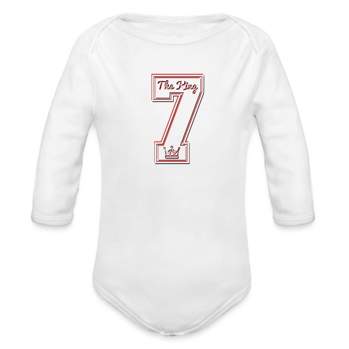 Collection THE KING 7 - Body Bébé bio manches longues