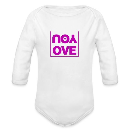 Love - Ekologisk långärmad babybody