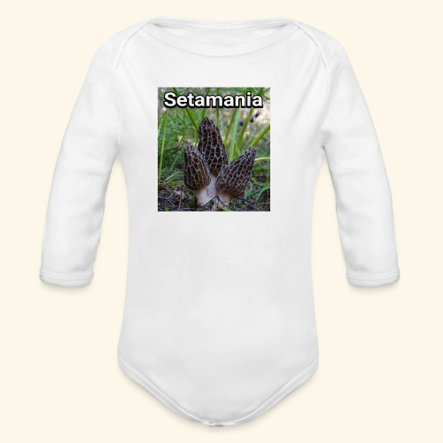 Colmenillas setamania - Body orgánico de manga larga para bebé