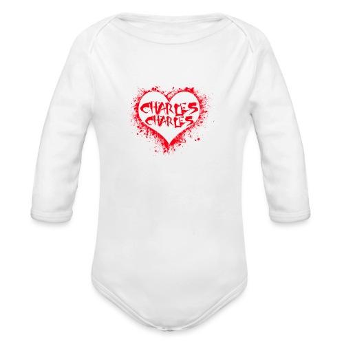 CHARLES CHARLES VALENTINES PRINT - LIMITED EDITION - Organic Longsleeve Baby Bodysuit