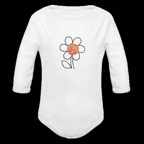 Pizzaflower Edition - Baby Bio-Langarm-Body