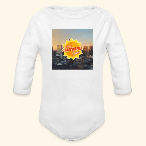 California Spirit City - Body bébé bio manches longues