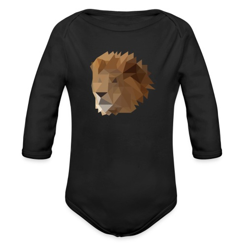 Löwe - Baby Bio-Langarm-Body
