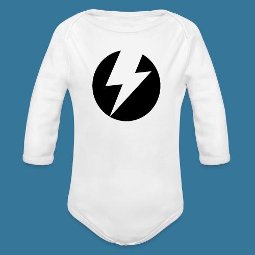 BlueSparks - Inverted - Organic Longsleeve Baby Bodysuit