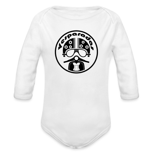 Vesparadas - Baby bio-rompertje met lange mouwen