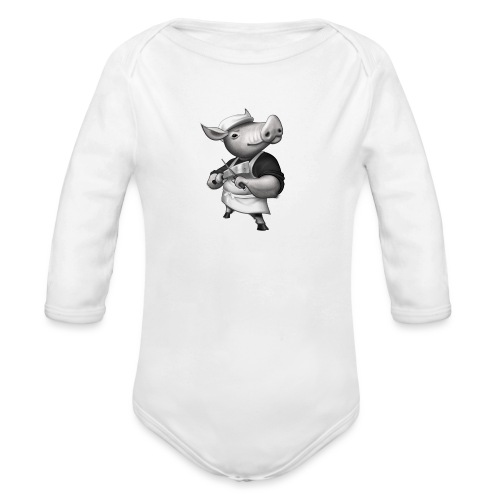 Pig Butcher - Baby Bio-Langarm-Body