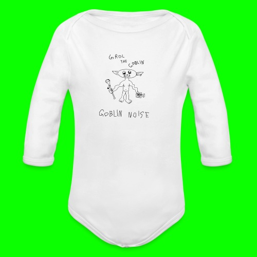 Goblin Noise - Organic Longsleeve Baby Bodysuit