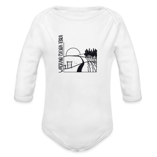 wacrain logo 20cm - Baby Bio-Langarm-Body