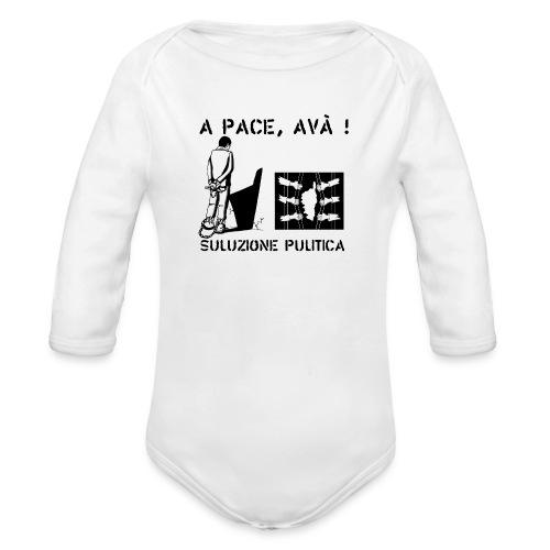 A PACE AVA 2 - Body Bébé bio manches longues