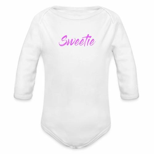 Sweetie - Organic Longsleeve Baby Bodysuit