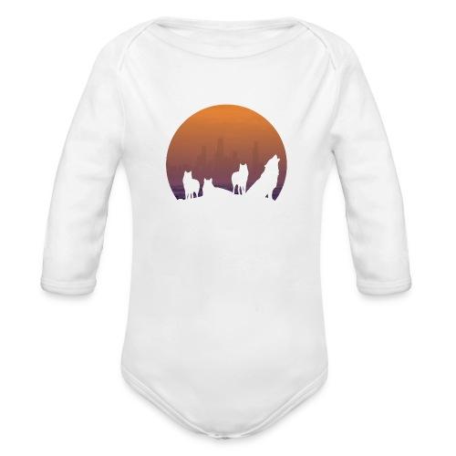 Wolfsrudel - Baby Bio-Langarm-Body