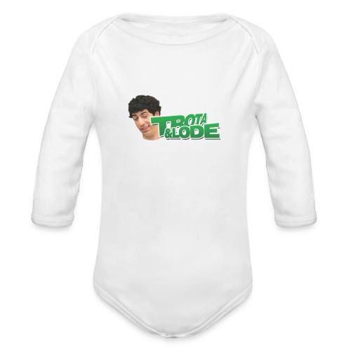 spillette - Body ecologico per neonato a manica lunga