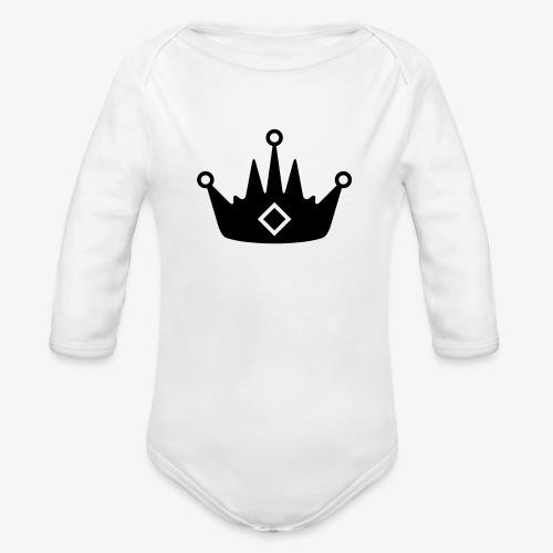 CORONA DELL'ABBIGLIAMENTO - Body ecologico per neonato a manica lunga