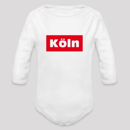 Köln - Baby Bio-Langarm-Body