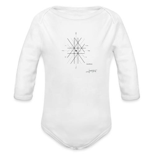 mathematique du centre_de_lunivers - Body Bébé bio manches longues