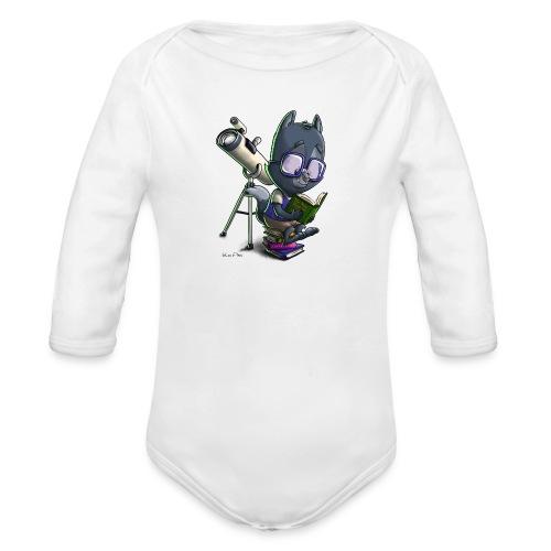 Li'l Wolfie: SiLee Films - Organic Longsleeve Baby Bodysuit