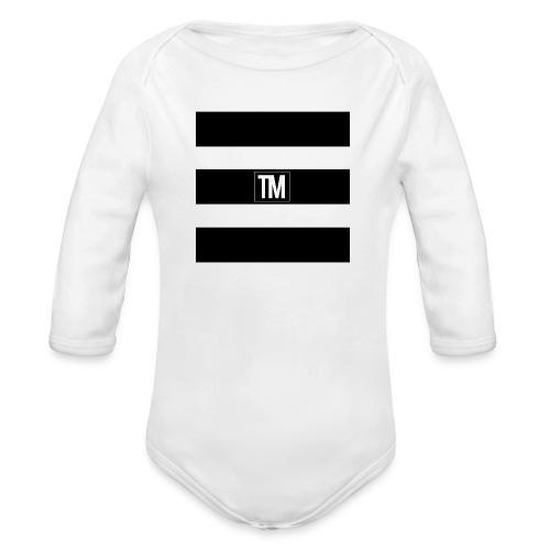 bars - Organic Longsleeve Baby Bodysuit