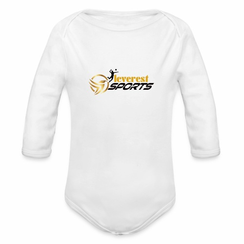 Leverest Sports - Baby Bio-Langarm-Body
