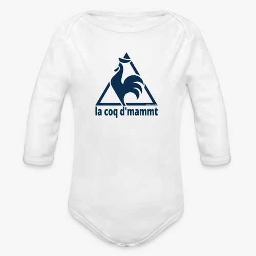 La Coq d'Mammt - Body ecologico per neonato a manica lunga