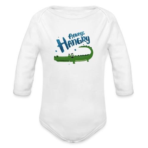 Always Hangry - Baby Bio-Langarm-Body