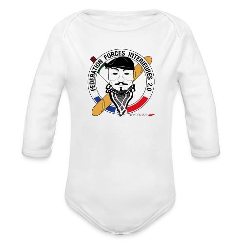 FFi Anonymous - Body Bébé bio manches longues