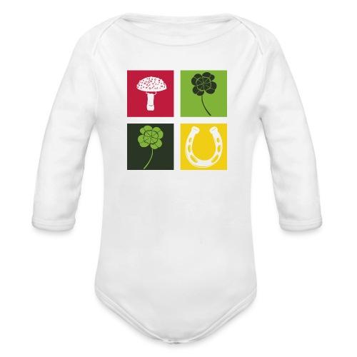 Just my luck Glück - Baby Bio-Langarm-Body