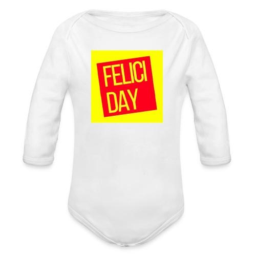 Feliciday - Body orgánico de manga larga para bebé
