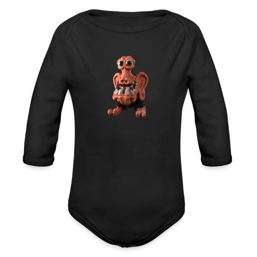 Very positive monster - Organic Longsleeve Baby Bodysuit