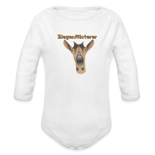 Ziegenflüsterer - Baby Bio-Langarm-Body