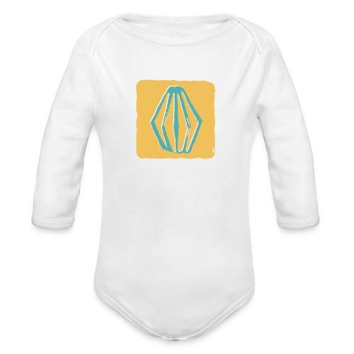 Lanterne magique - Baby Bio-Langarm-Body