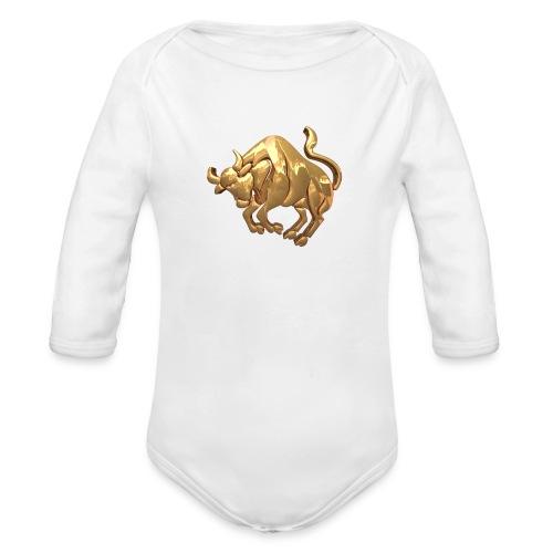 stier - Baby Bio-Langarm-Body