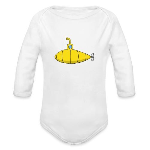 Submarine - Body orgánico de manga larga para bebé