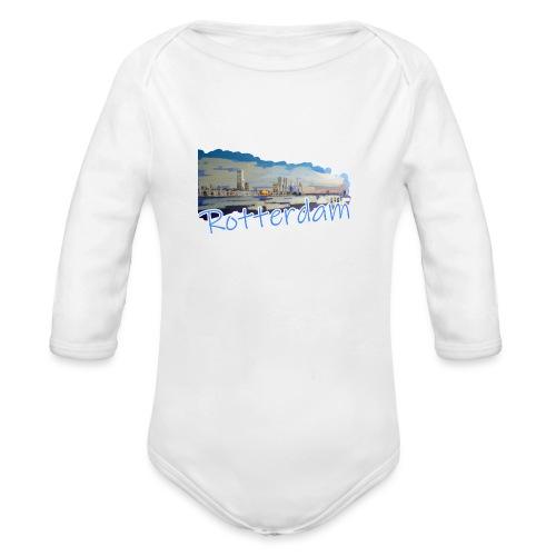 Rotterdam - Baby Bio-Langarm-Body