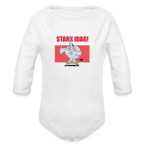 Stark idag - Ekologisk långärmad babybody