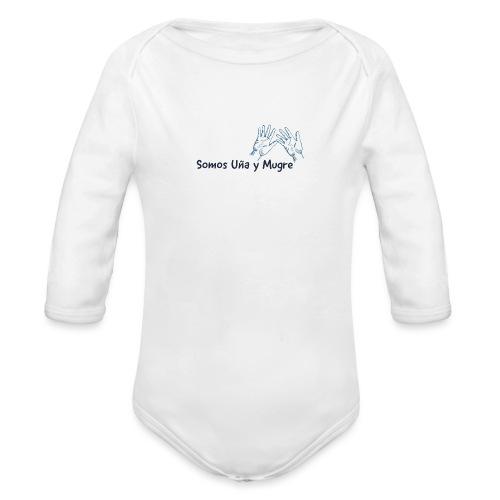 Somos uña y mugre - Body orgánico de manga larga para bebé
