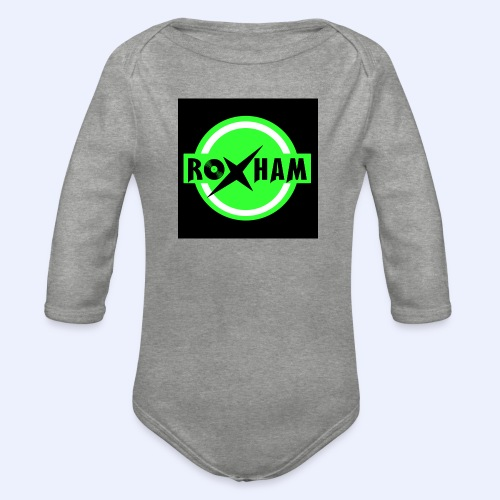 RoxHam-Button-2019 - Baby Bio-Langarm-Body
