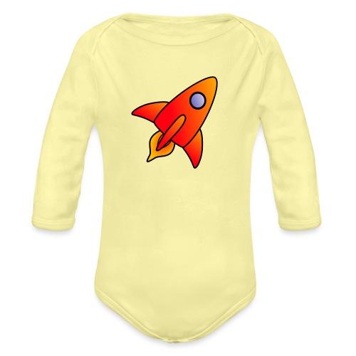 Red Rocket - Organic Longsleeve Baby Bodysuit